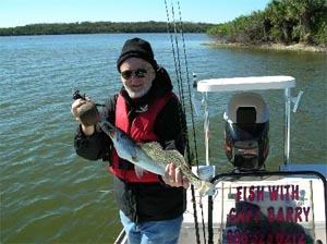 fred fishing with daytona's captain barry